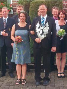 Königspaar 2016 Jürgen Sieverding